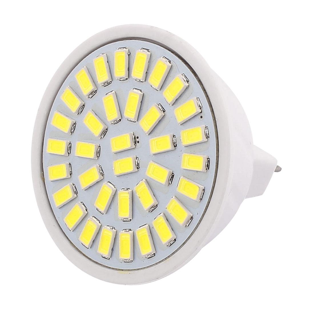 220V 5W MR16 5730 SMD 35 LEDs LED Bulb Light Spotlight Lamp Lighting White