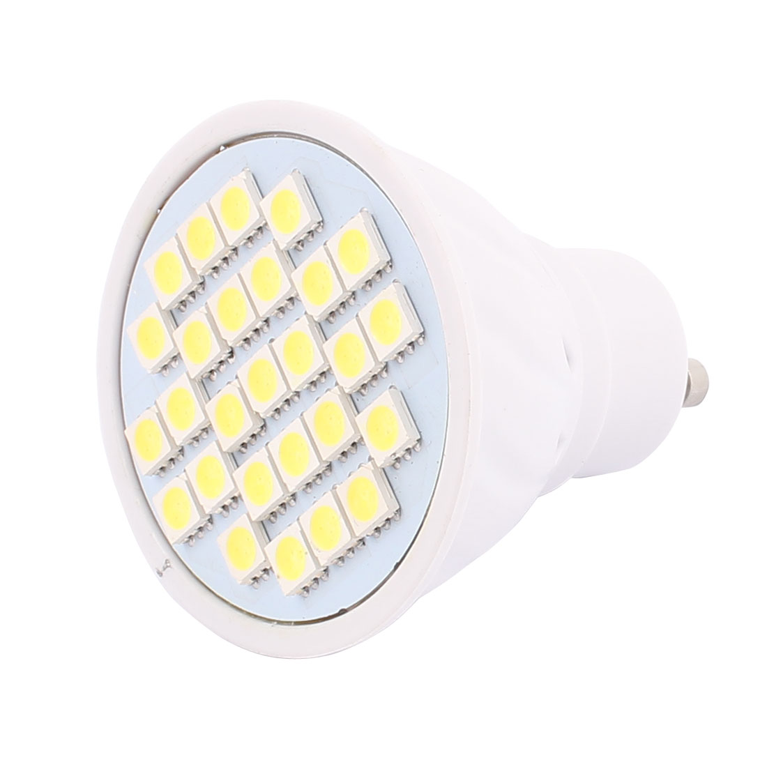 220V-240V GU10 LED Light 4W 5050 SMD 27 LEDs Spotlight Down Lamp Bulb Energy Saving Pure White