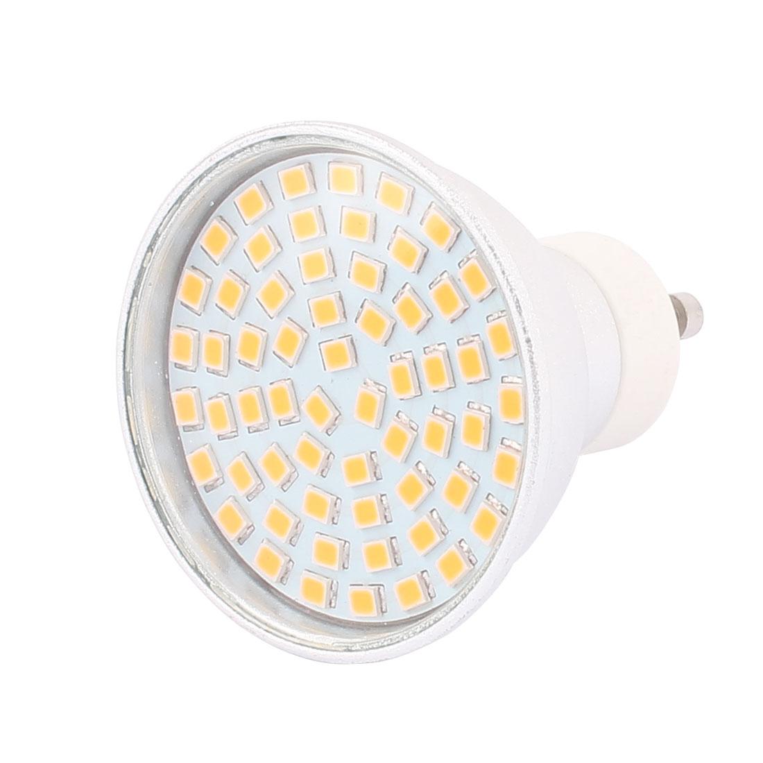 220V-240V GU10 LED Light 6W 2835 SMD 60 LEDs Spotlight Down Lamp Energy Save Pure White