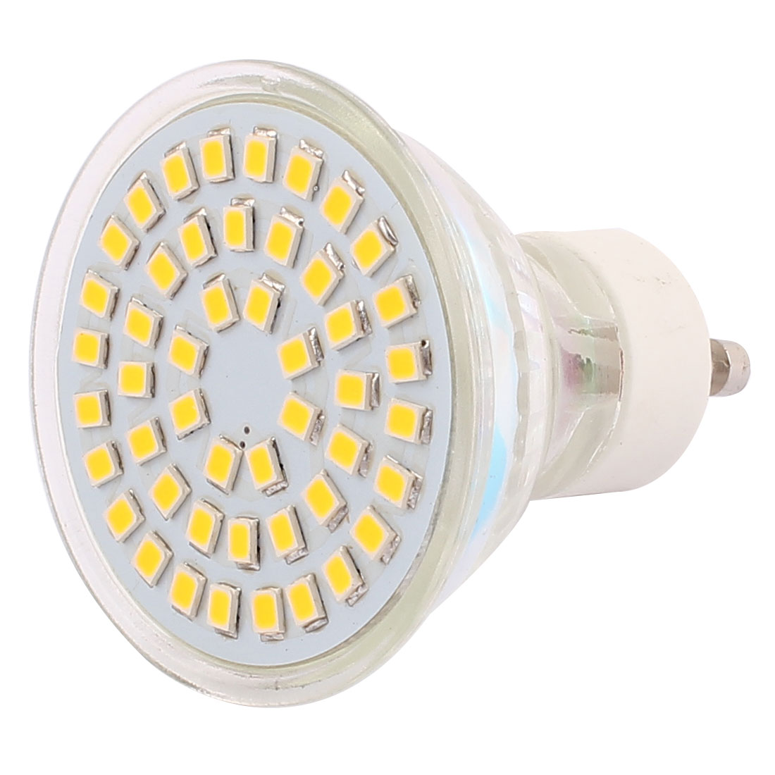 110V GU10 LED Light 4W 2835 SMD 48 LEDs Spotlight Down Lamp Bulb Lighting Warm White