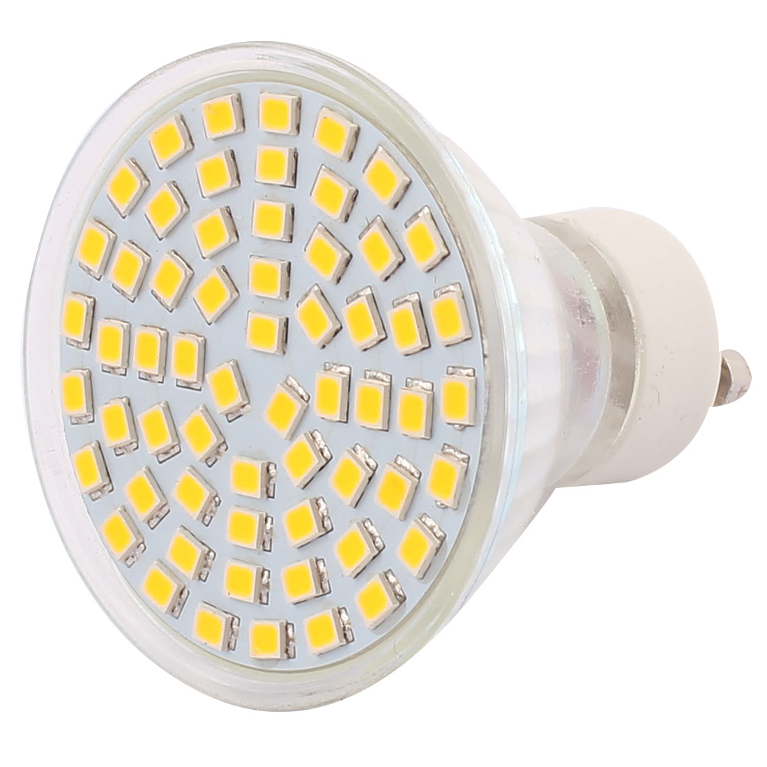 110V GU10 LED Light 6W 2835 SMD 60 LEDs Spotlight Down Lamp Bulb Lighting Warm White