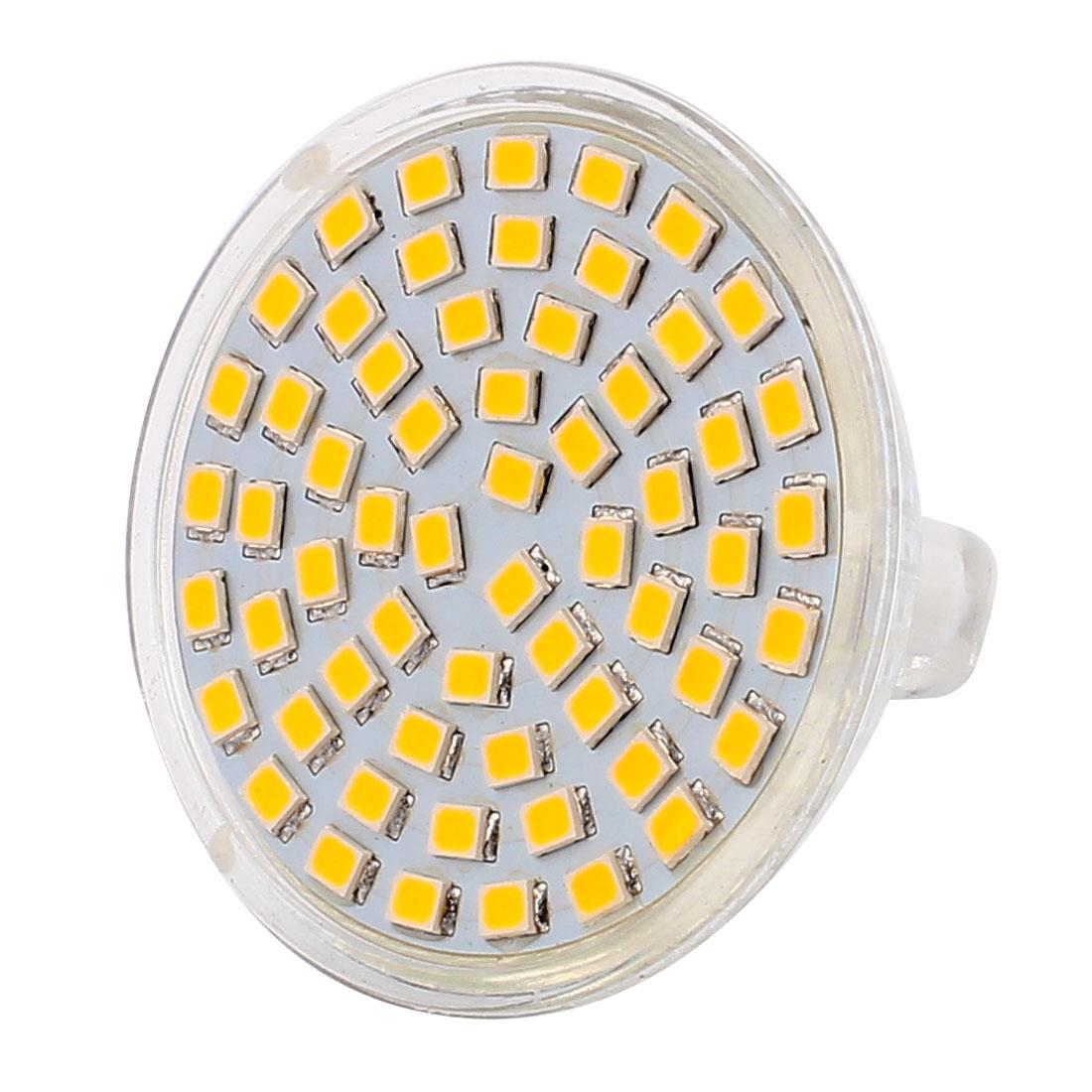 110V 6W MR16 2835 SMD 60 LEDs LED Light Spotlight Down Lamp Lighting Warm White