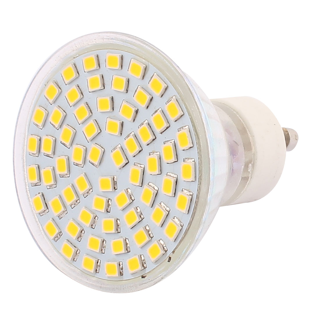 220V GU10 LED Light 6W 2835 SMD 60 LEDs Spotlight Down Lamp Bulb Lighting Warm White