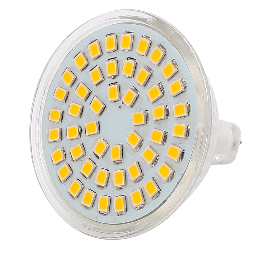 220V 4W MR16 2835 SMD 48 LEDs LED Light Spotlight Down Lamp Lighting Warm White