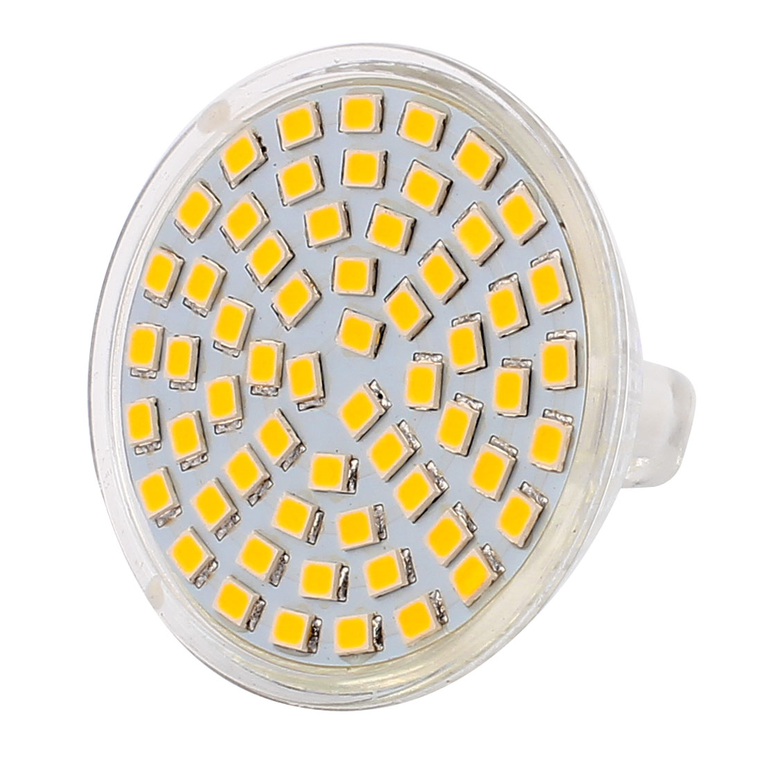 220V 6W MR16 2835 SMD 60 LEDs LED Light Spotlight Down Lamp Lighting Warm White