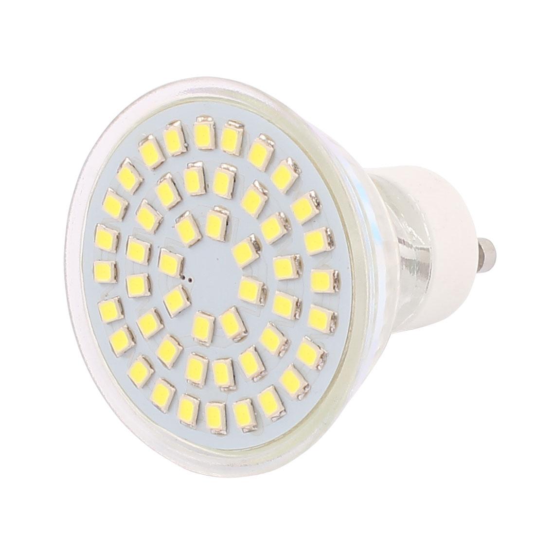 110V GU10 LED Light 4W 2835 SMD 48 LEDs Spotlight Down Lamp Bulb Lighting Pure White