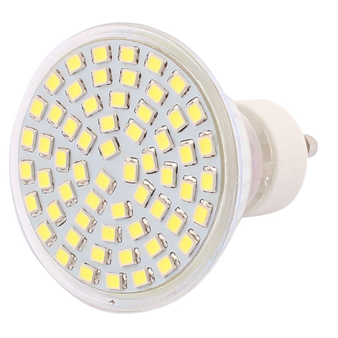 110V GU10 LED Light 6W 2835 SMD 60 LEDs Spotlight Down Lamp Bulb Lighting Pure White