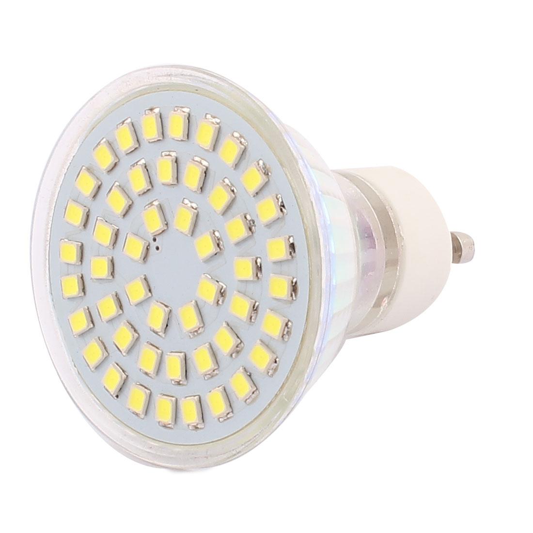 220V GU10 LED Light 4W 2835 SMD 48 LEDs Spotlight Down Lamp Bulb Lighting Pure White