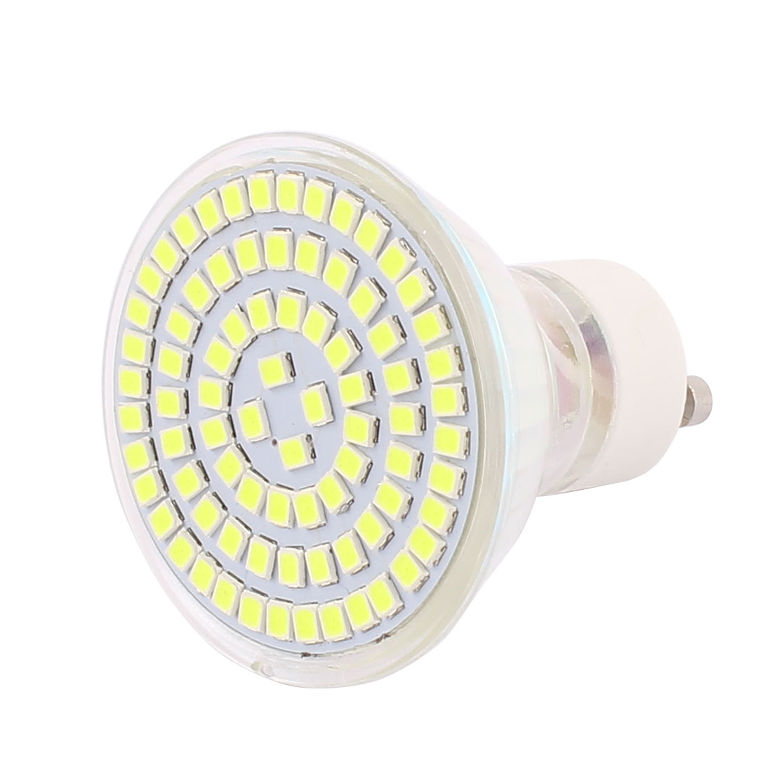 110V GU10 LED Light 8W 2835 SMD 80 LEDs Spotlight Down Lamp Bulb Lighting Pure White