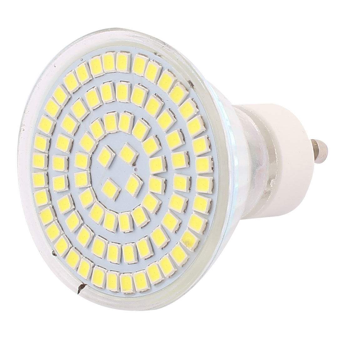 220V GU10 LED Light 8W 2835 SMD 80 LEDs Spotlight Down Lamp Bulb Lighting Pure White
