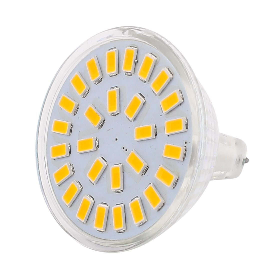 220V-240V 5W MR16 5730 SMD 28 LEDs LED Bulb Down Light Spotlight Lamp Warm White