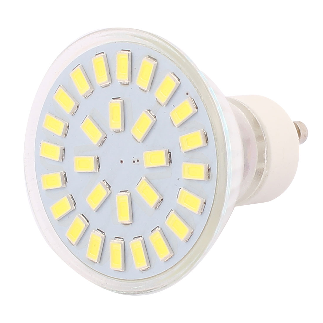 220V-240V GU10 LED Light 4W 5730 SMD 28 LEDs Spotlight Down Lamp Bulb Lighting Pure White