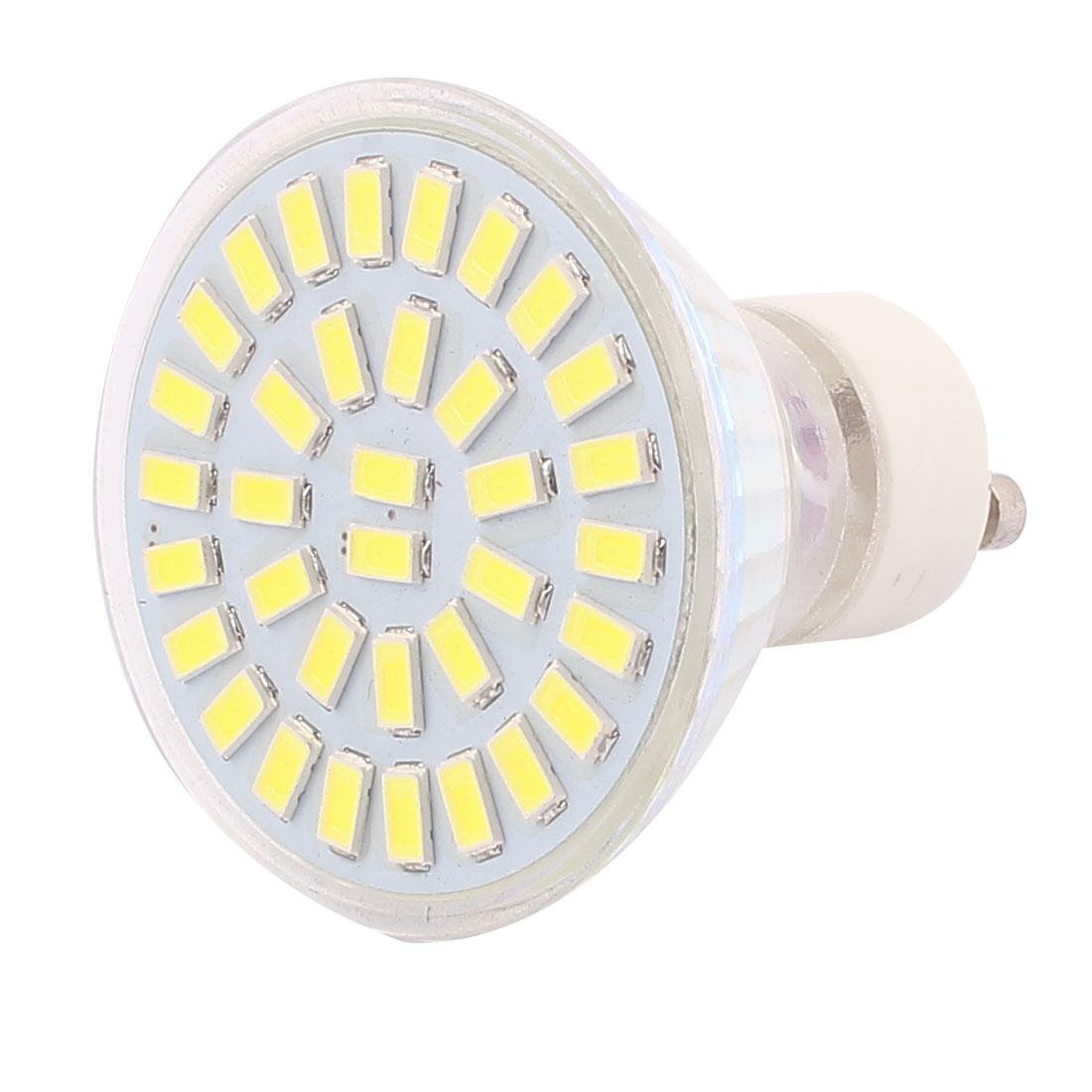 220V-240V GU10 LED Light 5W 5730 SMD 35 LEDs Spotlight Down Lamp Bulb Lighting Pure White