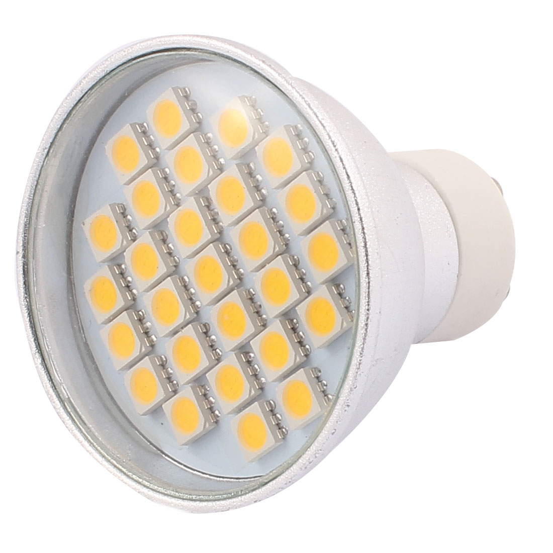 220V GU10 LED Light 4W 5050 SMD 27 LEDs Spotlight Down Lamp Bulb Energy Saving Warm White