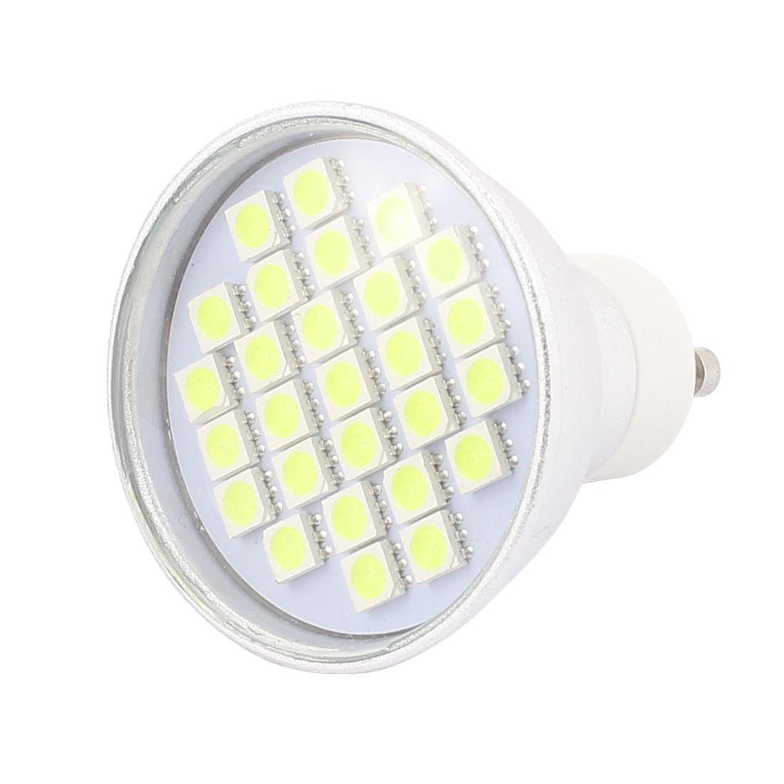 110V GU10 LED Light 4W 5050 SMD 27 LEDs Spotlight Down Lamp Bulb Energy Saving Pure White