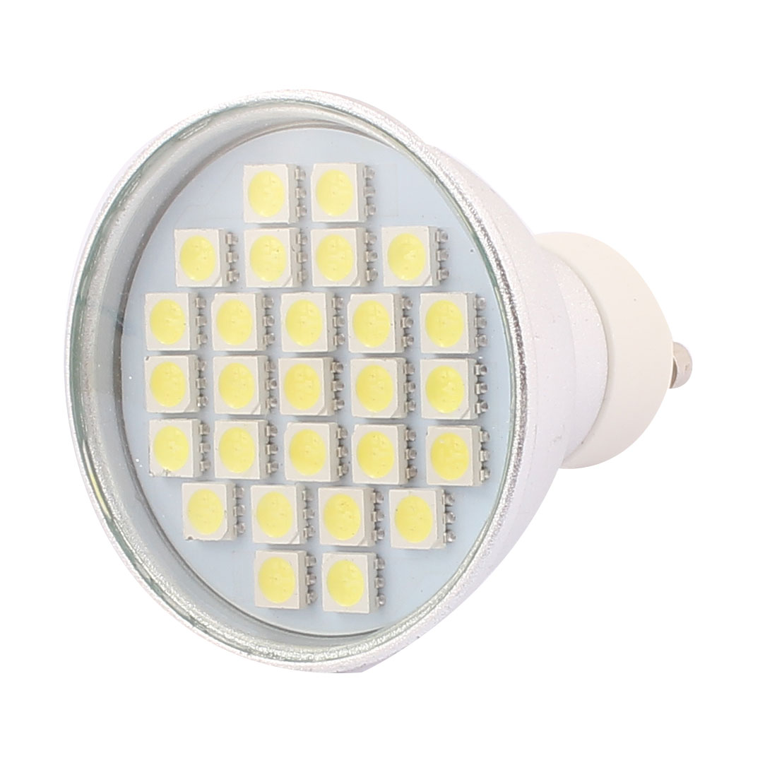 220V GU10 LED Light 4W 5050 SMD 27 LEDs Spotlight Down Lamp Bulb Energy Saving Pure White