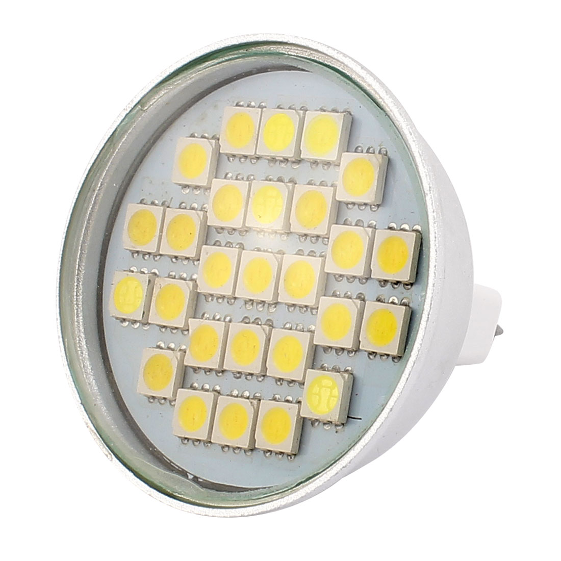 220V 4W MR16 5050 SMD 27 LEDs LED Bulb Light Spotlight Lamp Energy Saving White