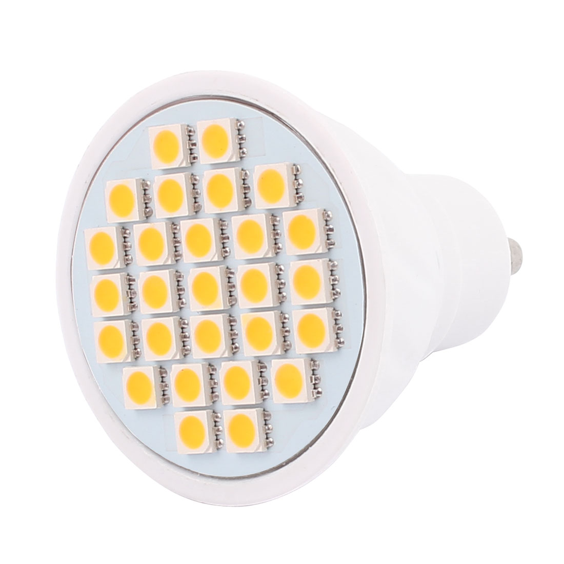 220V GU10 LED Light 4W 5050 SMD 27 LEDs Spotlight Down Lamp Bulb Energy Save Warm White