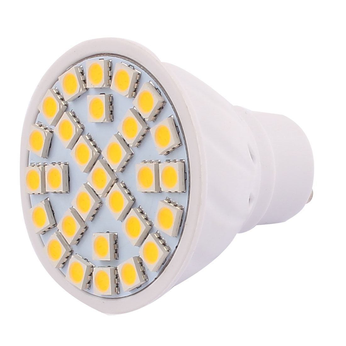 220V GU10 LED Light 5W 5050 SMD 29 LEDs Spotlight Down Lamp Bulb Energy Save Warm White