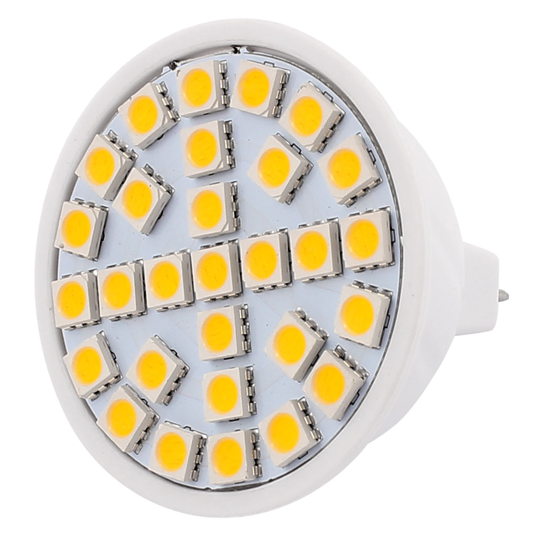 220V 5W MR16 5050 SMD 29 LEDs LED Bulb Light Spotlight Lamp Warm White