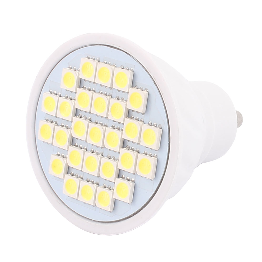 220V GU10 LED Light 4W 5050 SMD 27 LEDs Spotlight Down Lamp Bulb Energy Save Pure White