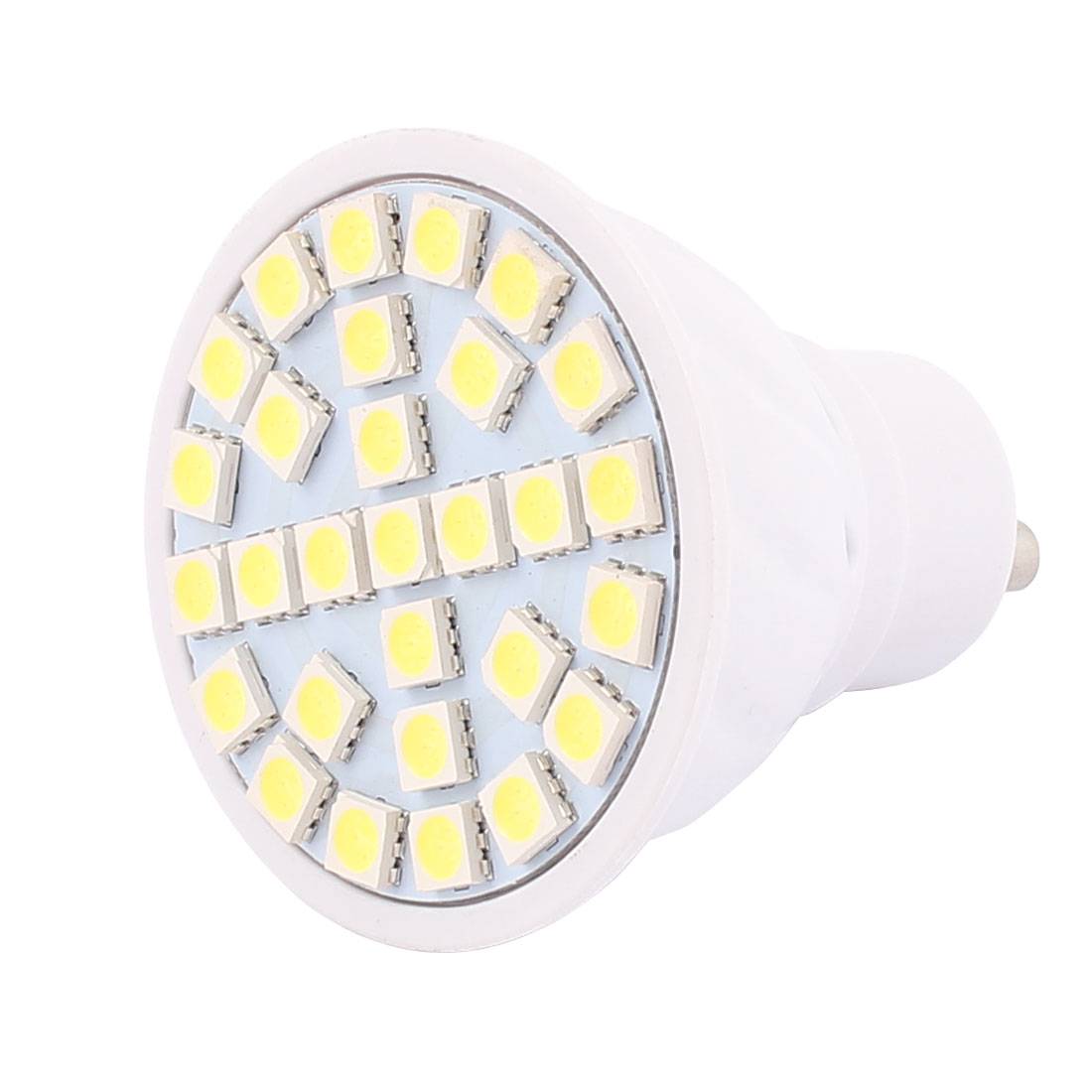 220V GU10 LED Light 5W 5050 SMD 29 LEDs Spotlight Down Lamp Bulb Energy Save Pure White