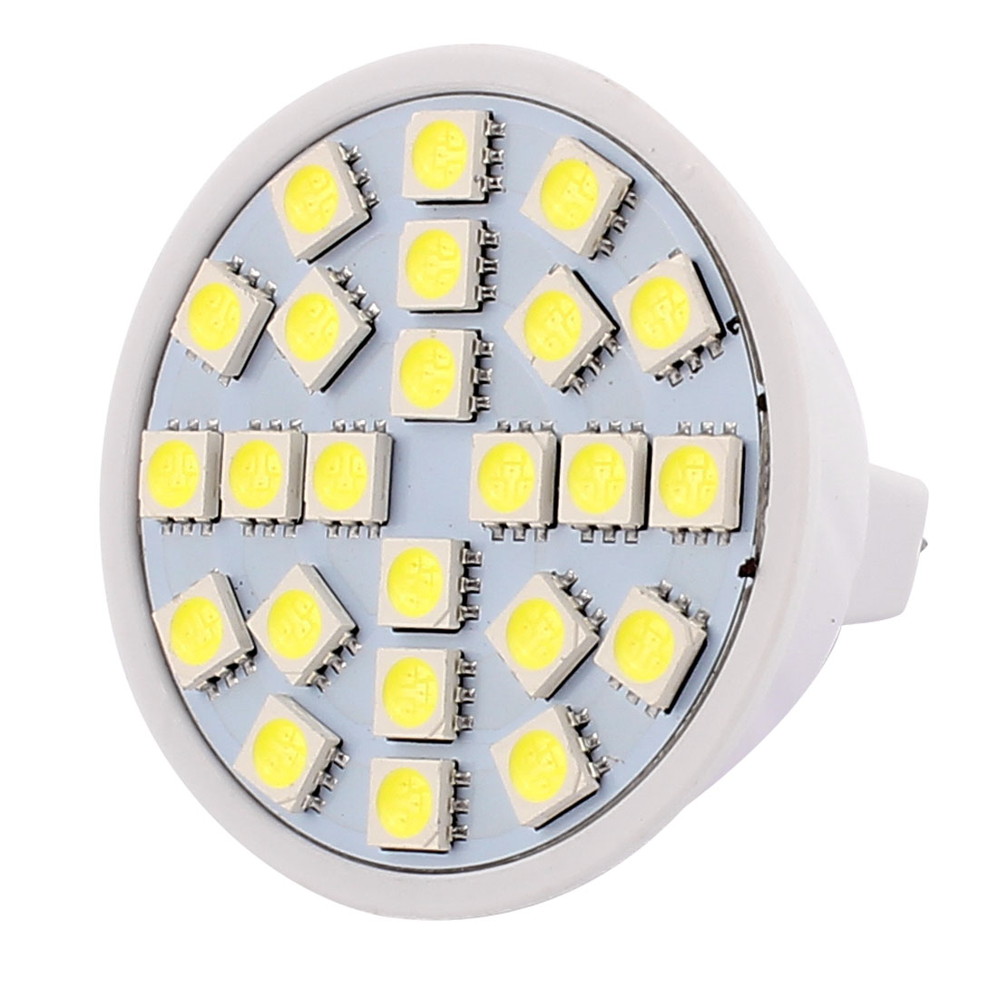 220V 5W MR16 5050 SMD 24 LEDs LED Bulb Light Spotlight Lamp Lighting White