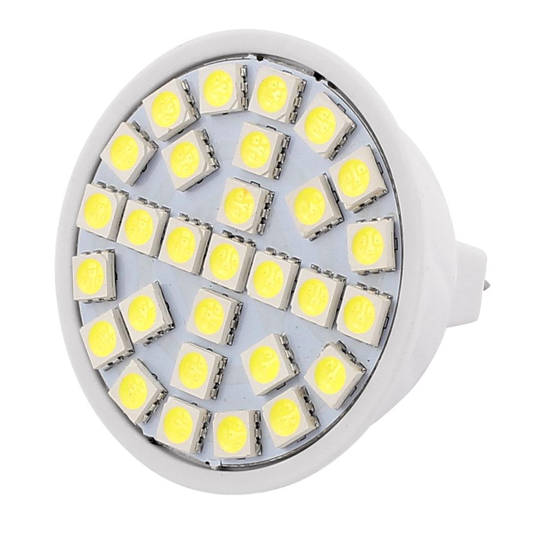220V 5W MR16 5050 SMD 29 LEDs LED Bulb Light Spotlight Lamp Lighting White