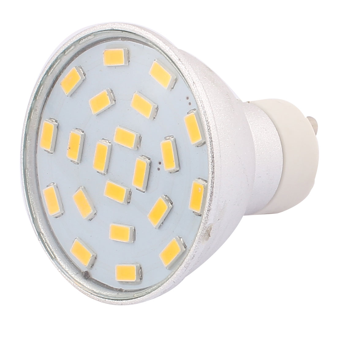 220V-240V GU10 LED Light 3W 5730 SMD 21 LEDs Spotlight Down Lamp Bulb Energ Saving Warm White