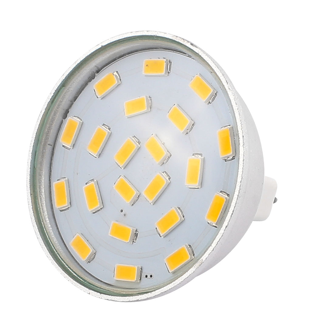 220V-240V 5W MR16 5730 SMD 21 LEDs LED Bulb Light Spotlight Lamp Energy Save Warm White