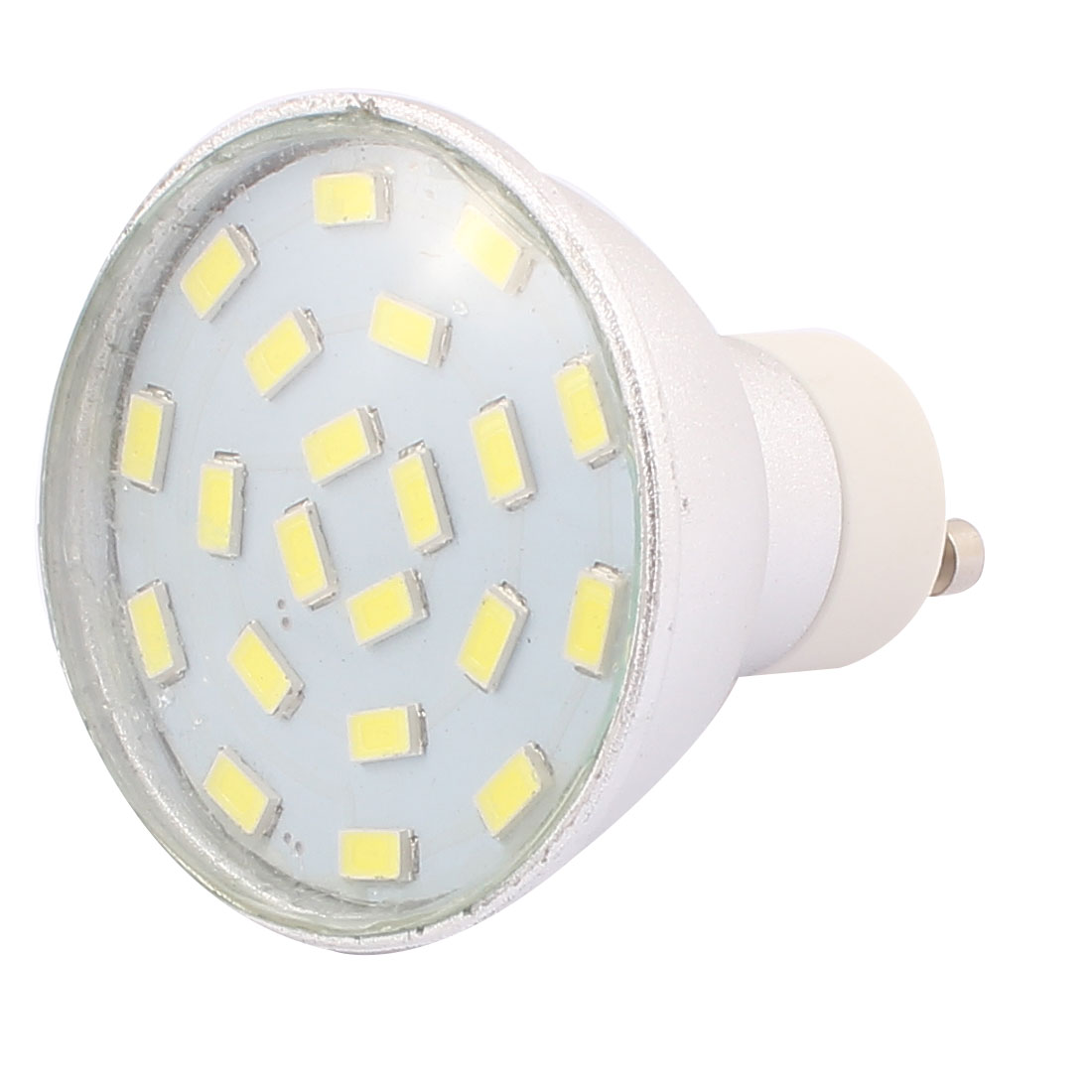 220V-240V GU10 LED Light 3W 5730 SMD 21 LEDs Spotlight Down Lamp Bulb Energy Saving Pure White