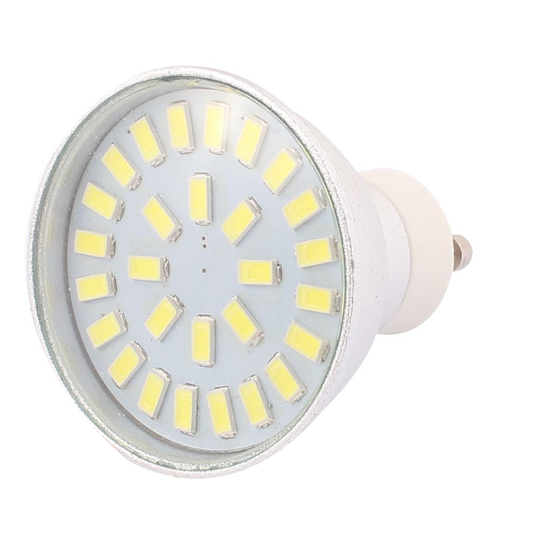 220V-240V GU10 LED Light 4W 5730 SMD 28 LEDs Spotlight Down Lamp Bulb Energy Saving Pure White