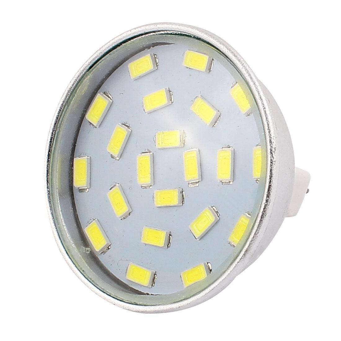 220V-240V 5W MR16 5730 SMD 21 LEDs LED Bulb Light Spotlight Lamp Energy Saving White