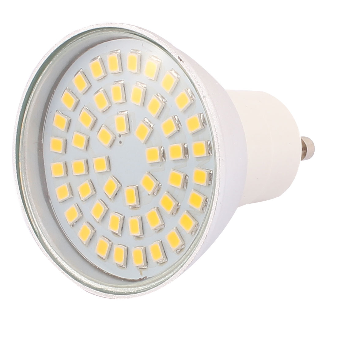 110V GU10 LED Light 4W 2835 SMD 48 LEDs Spotlight Down Lamp Energy Saving Warm White