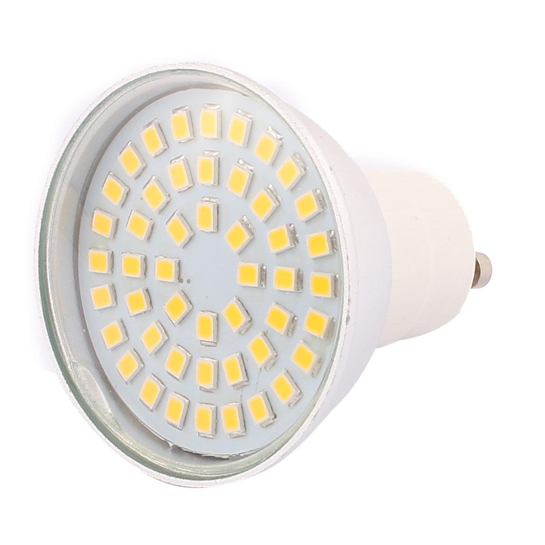 220V GU10 LED Light 4W 2835 SMD 48 LEDs Spotlight Down Lamp Energy Saving Warm White