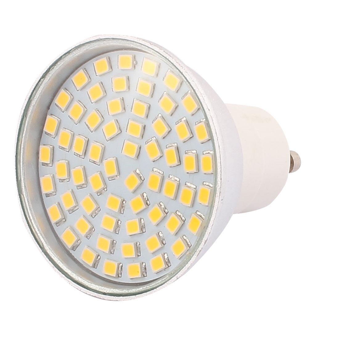 110V GU10 LED Light 6W 2835 SMD 60 LEDs Spotlight Down Lamp Energy Saving Warm White