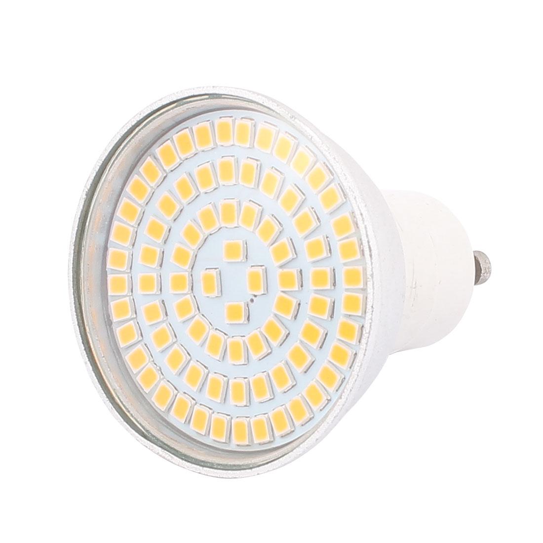 110V GU10 LED Light 8W 2835 SMD 80 LEDs Spotlight Down Lamp Energy Saving Warm White