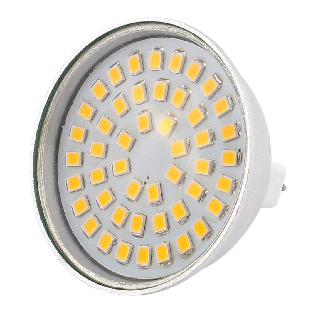 220V 4W MR16 2835 SMD 48 LEDs LED Bulb Light Spotlight Lamp Energy Save Warm White