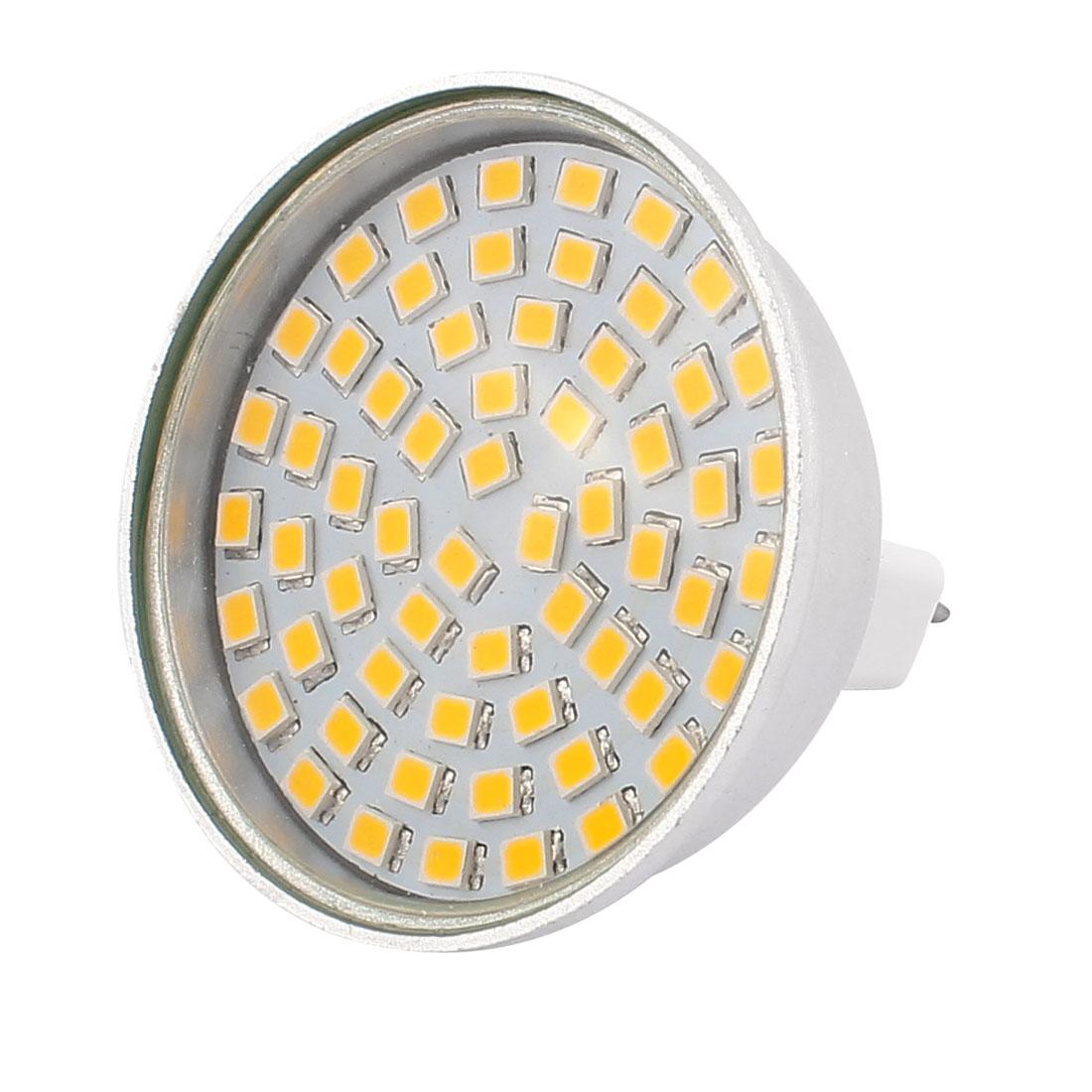 110V 6W MR16 2835 SMD 60 LEDs LED Bulb Light Spotlight Lamp Energy Save Warm White