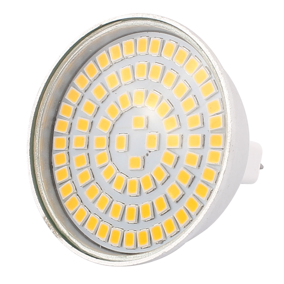 220V 8W MR16 2835 SMD 80 LEDs LED Bulb Light Spotlight Lamp Energy Save Warm White