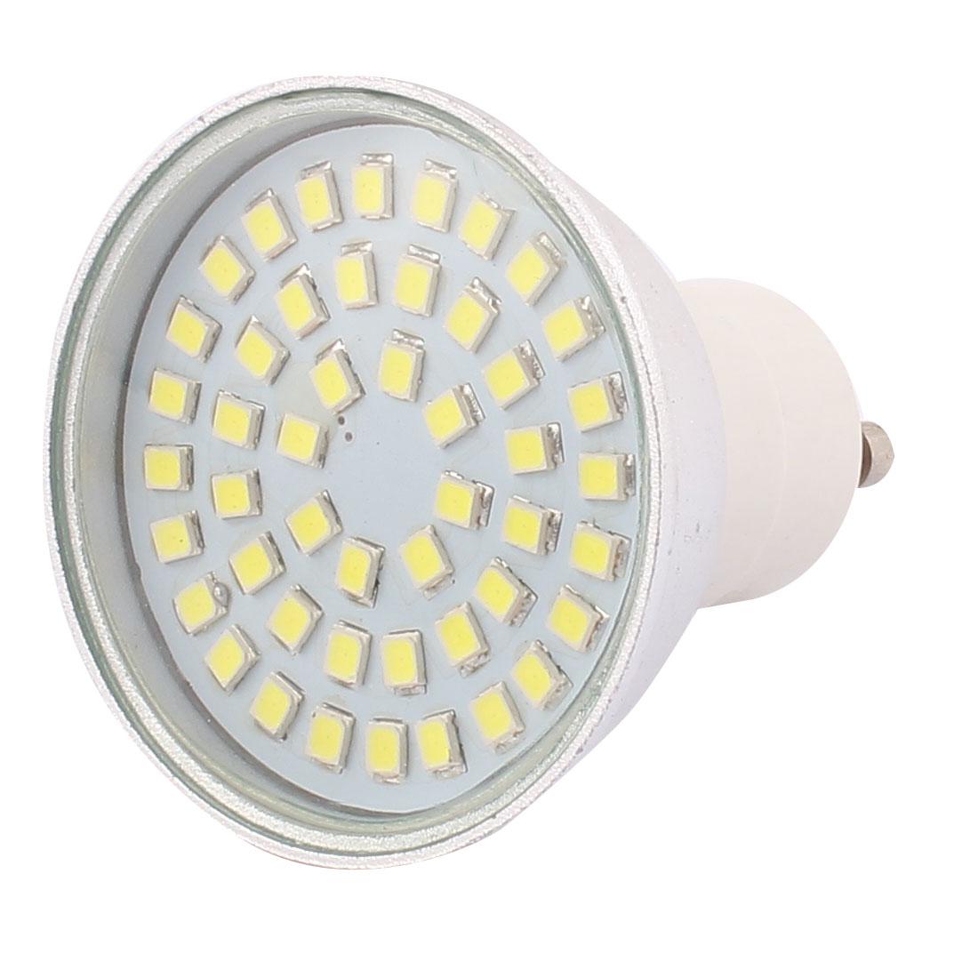 220V GU10 LED Light 4W 2835 SMD 48 LEDs Spotlight Down Lamp Energy Save Pure White