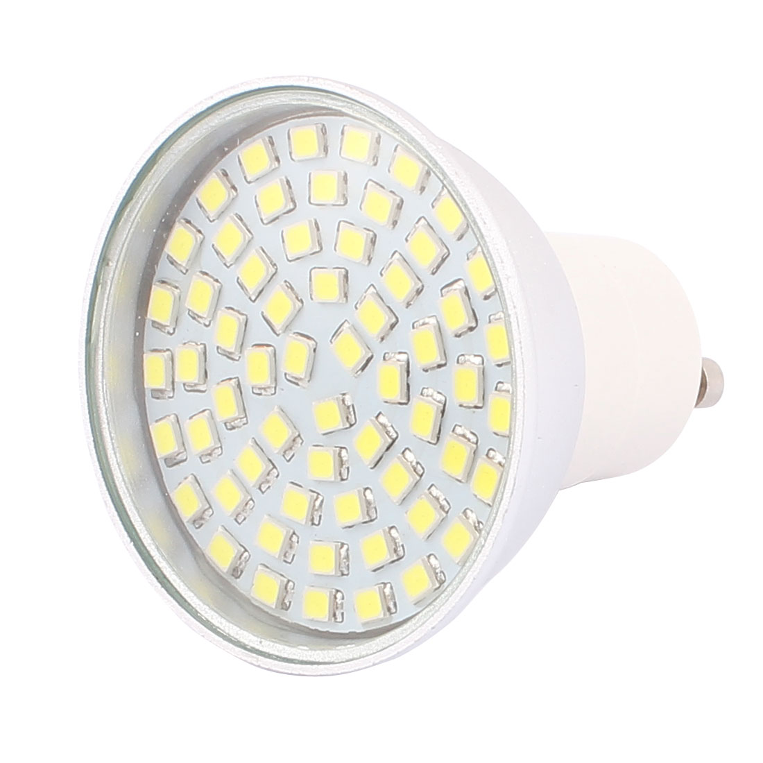 110V GU10 LED Light 6W 2835 SMD 60 LEDs Spotlight Down Lamp Energy Save Pure White