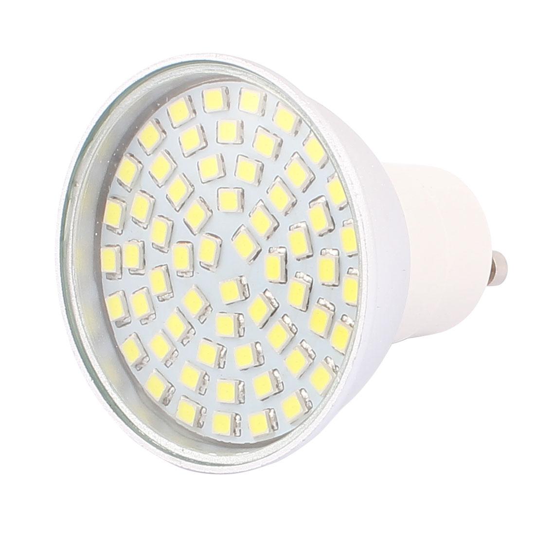 220V GU10 LED Light 6W 2835 SMD 60 LEDs Spotlight Down Lamp Energy Save Pure White