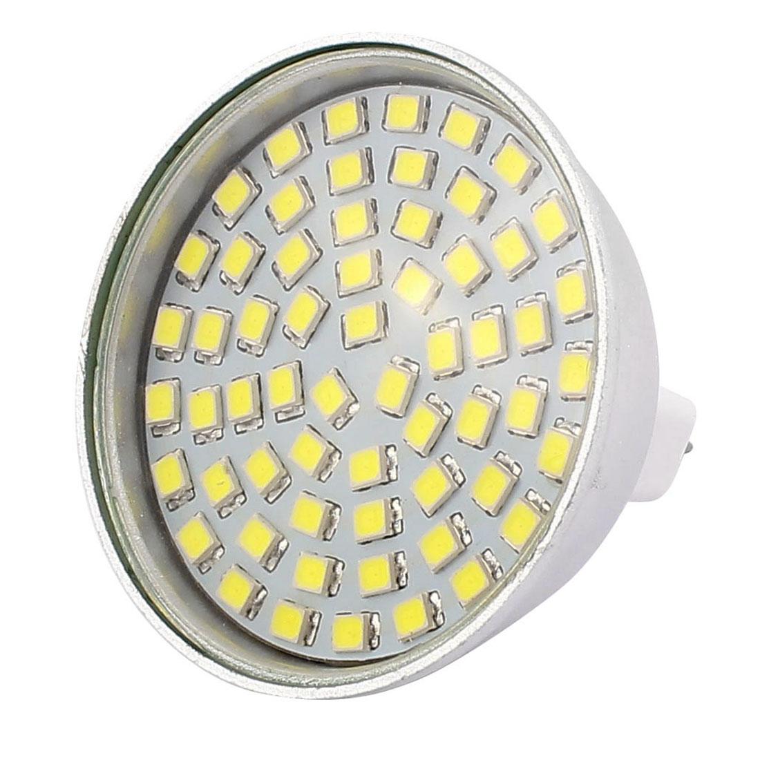 220V 6W MR16 2835 SMD 60 LEDs LED Bulb Light Spotlight Lamp Energy Saving White