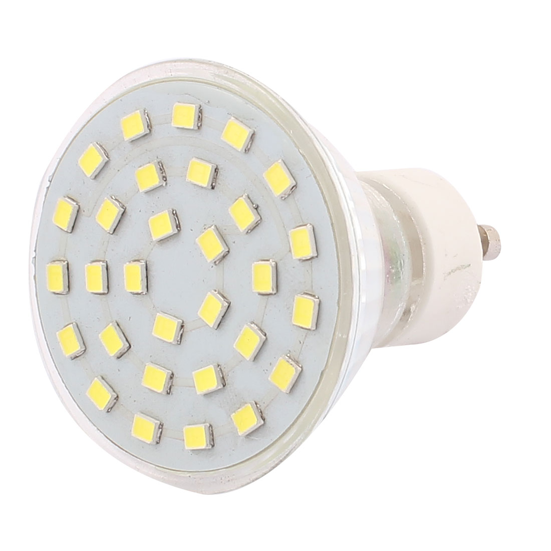 220V GU10 LED Light 5W 2835 SMD 30 LEDs Spotlight Down Lamp Bulb Lighting Pure White
