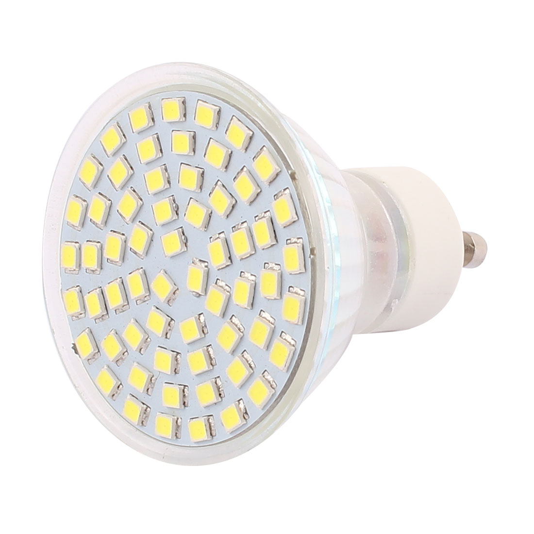 220V-240V GU10 LED Light 6W 2835 SMD 60 LEDs Spotlight Down Lamp Bulb Lighting Pure White