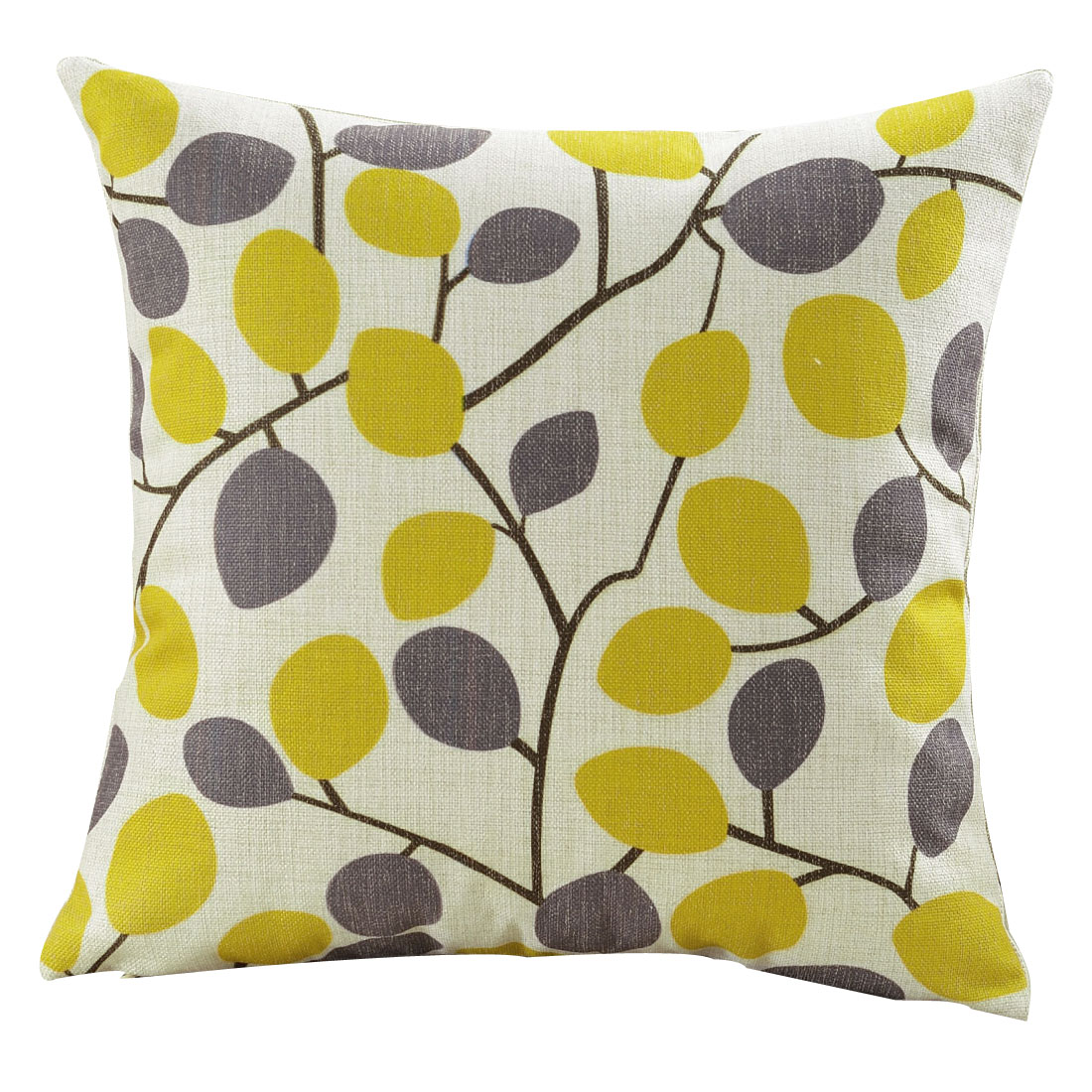 Home Sofa Cotton Linen Pop Geometric Pattern Waist Throw Cushion Pillow Cover