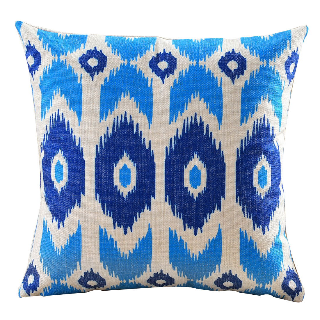 Sofa Cotton Linen Square Design Northern Europe Abstract Style Pillow Cover Decor