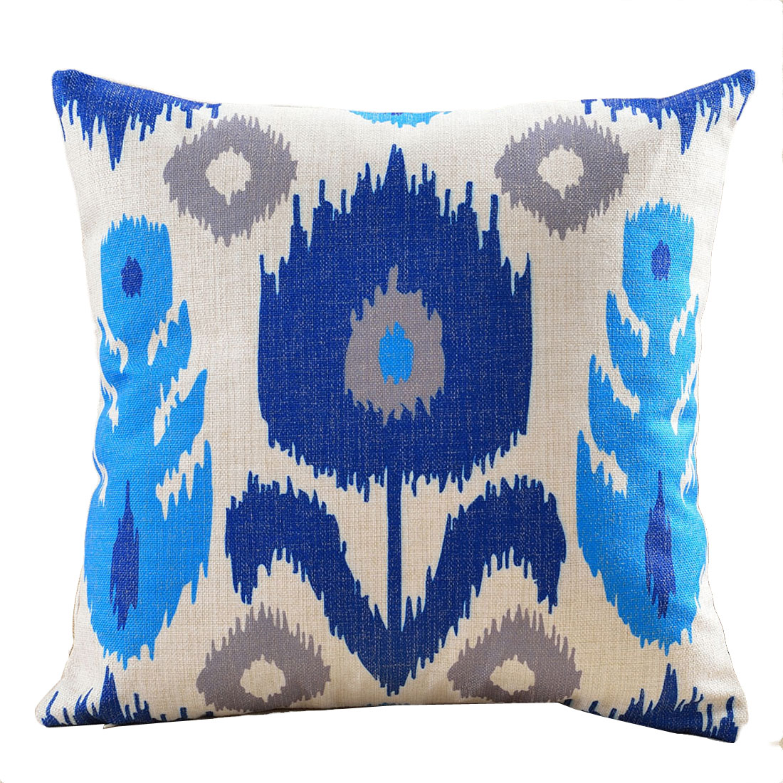 Home Cotton Linen Square Design Northern Europe Abstract Style Pillow Cover