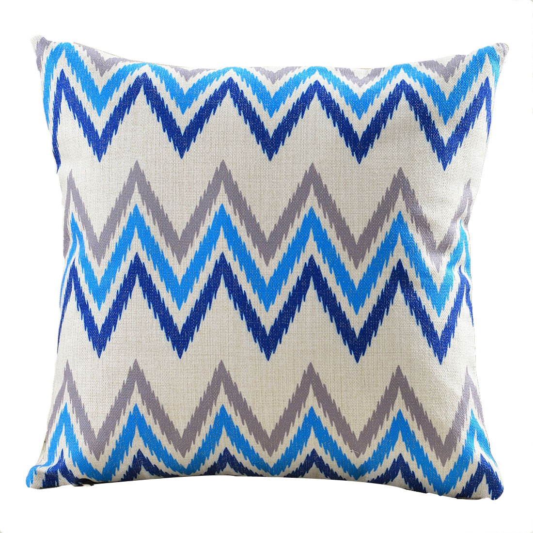 Sofa Cotton Linen Single Side Northern Europe Abstract Style Cushion Pillow Cover